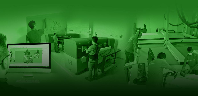 PranaPublicist lleva a cabo procesos con alta tecnología, amigable con el medio ambiente.